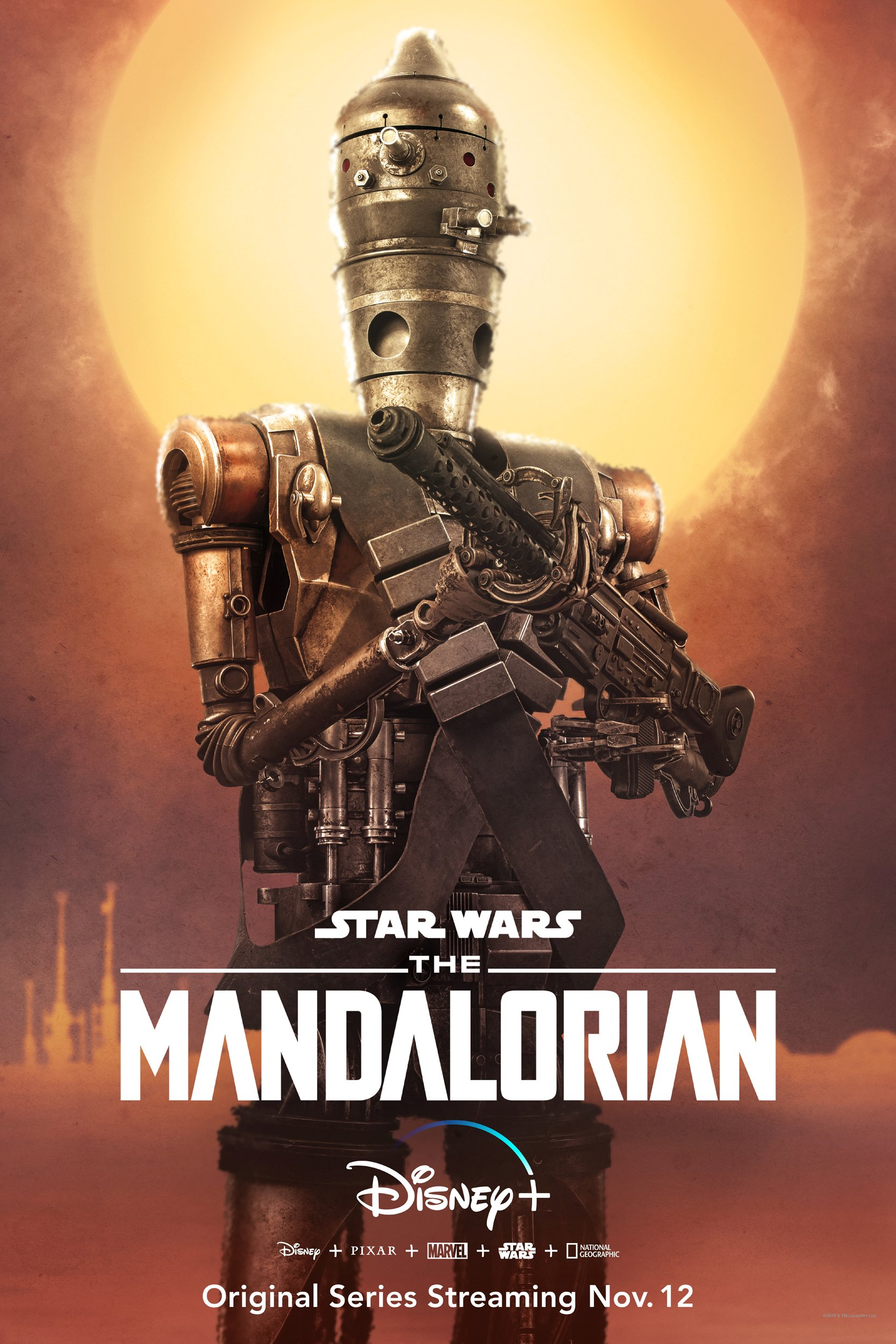 The Mandalorian - IG-11 Poster