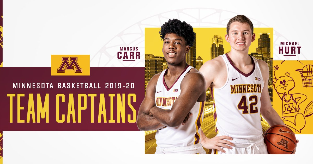 Captain @MichaelHurt42 and Captain @m5cinco, reporting for duty. #Gophers