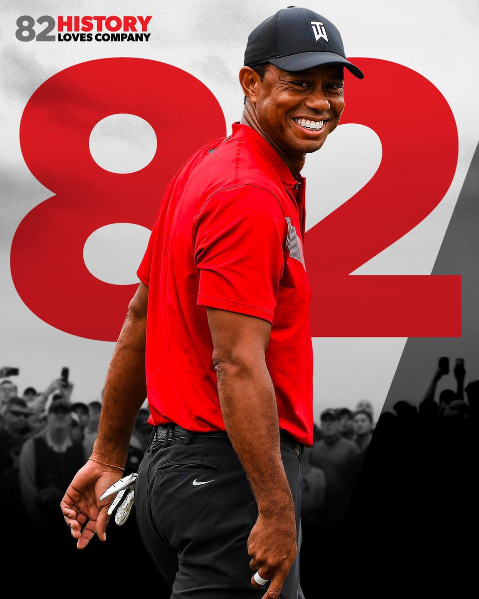 Congrats to our partner on winning his 82nd career PGA Tournament!  Incredible Tiger,  great way to start the new season! 🐅🏌🏼‍♂️@TigerWoods  • • 📸: @pgatour https://t.co/P9o769xgae