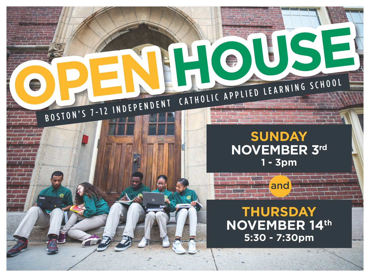 test Twitter Media - Learn more about Boston's only Catholic, independent, applied learning school serving boys and girls in grades 7 through 12 at our Admissions Open Houses on November 3 and 14 » https://t.co/fGUs8dP1BW  #RCABSchools | #GoFurtherWithFaith | #Boston https://t.co/XWtACA8Pms