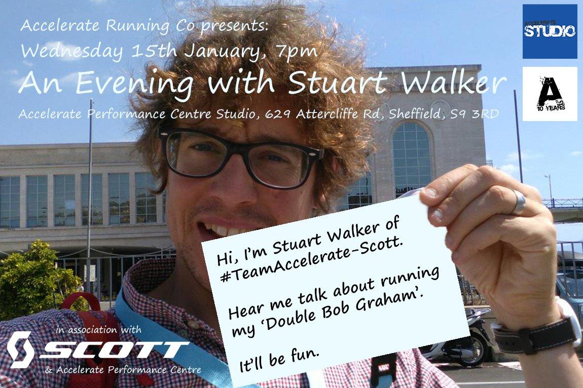 LIMITED AVAILABILITY - Our very own  @mrstuartwalker  is talking about his Double Bob Graham - January 15th. #STUDIO @AccelPerform #dbg #doublebobgraham #bobgraham #bg #rar #runnersagainstrubbish #scott #noshortcuts #tractionmatters @scottrunning Details: https://www.accelerateuk.com/shop/product/968/Workshops--amp--Talks/An-Evening-with-Stuart-Walker/…