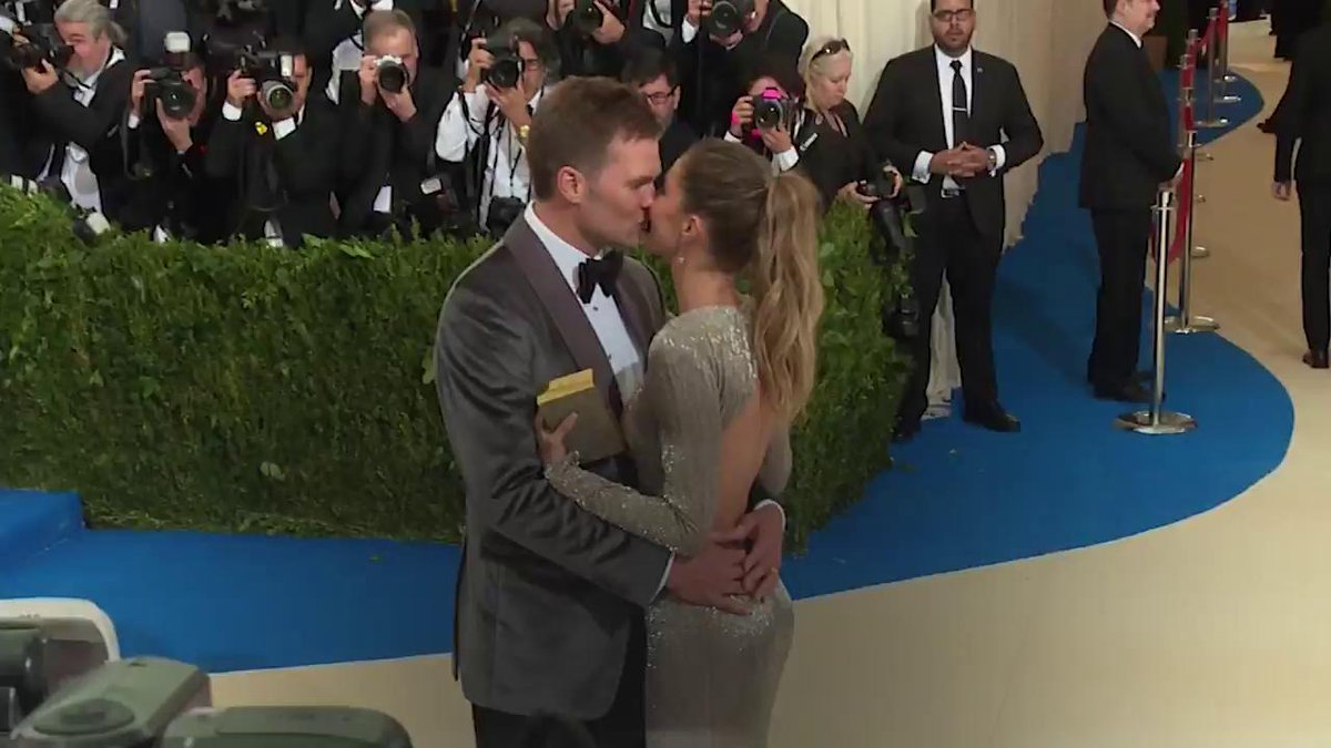 Image for the Tweet beginning: Gisele Bündchen and Tom Brady's