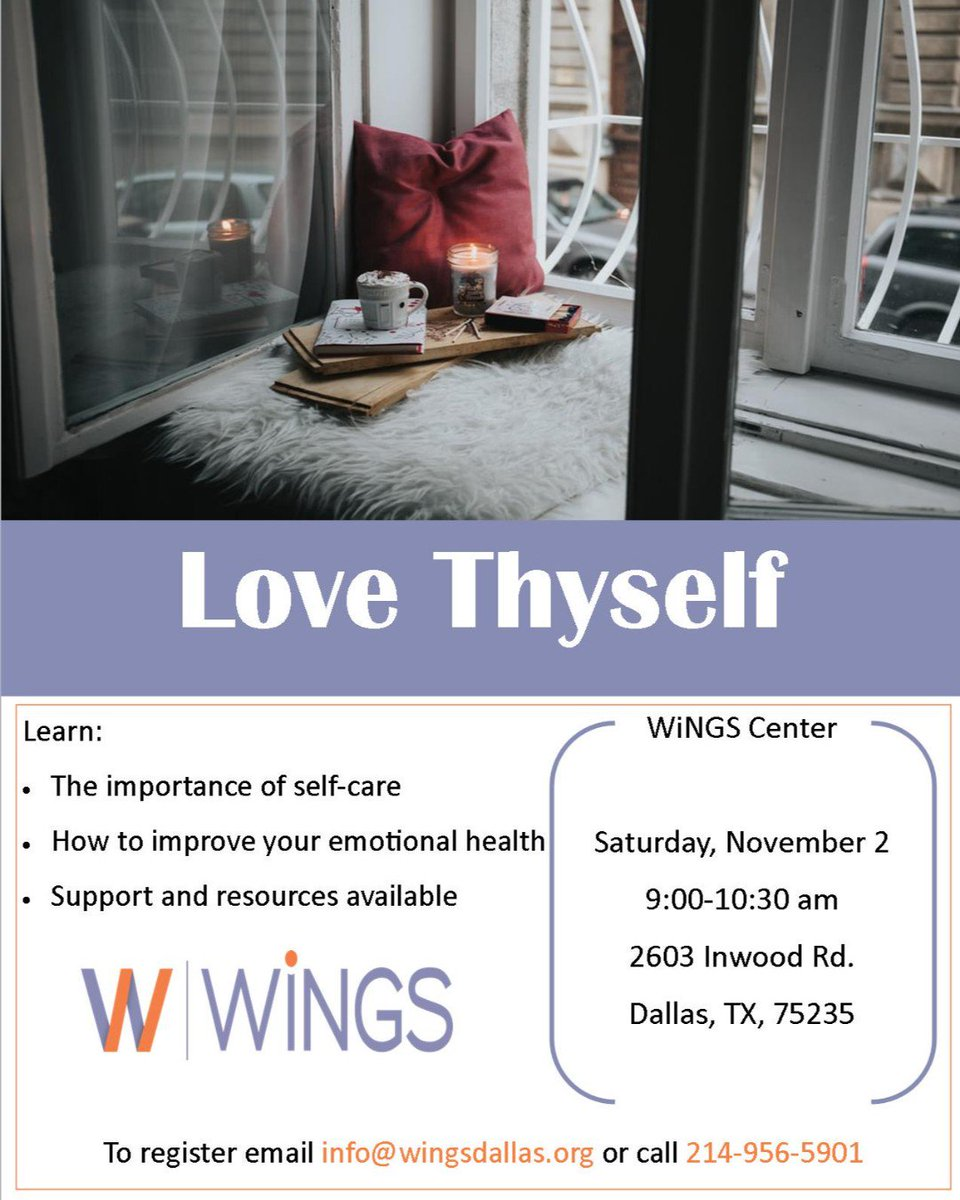 test Twitter Media - We all need a little self care and self love in our lives to be our best selves. Join us next Saturday for this amazing free class focused on Y-O-U. Call us - 214.956.5901 or visit https://t.co/VaAFMOs4HS to sign up! #beyourbestself #educationindallas #dallasnonprofit #metime https://t.co/yjzp8nywXk