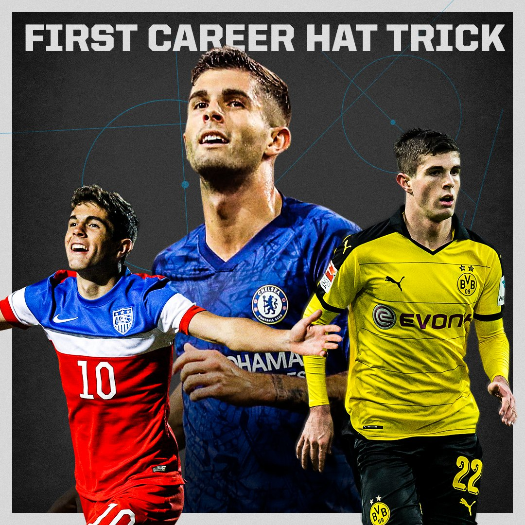 UNBELIEVABLE. Christian Pulisic scores his first career hat trick 👏