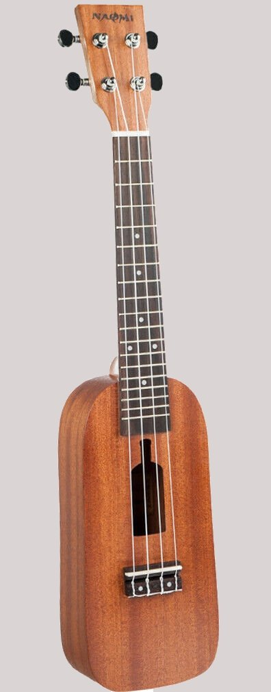 Naomi Bottle rectangular concert Ukulele