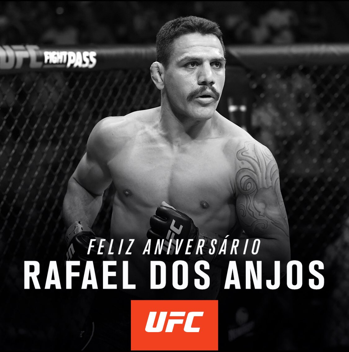 Hoje é dia de parabenizar o ex-campeão @RdosAnjosMMA ! Tudo de melhor sempre, que venham muitas lutas no Octógono