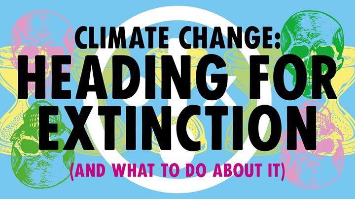 ***Heading For Extinction*** (and what to do about it) 🌍💀🌍💀🌍💀🌍💀🌍 St John's Church, Farncombe GU7 3EJ Friday 8th Nov, 7.30-9.30pm