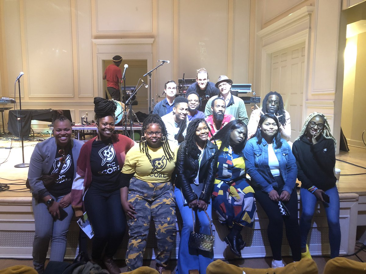My poet-athlete babies got to spit their poetry for @TankandDaBangas after what was probably the best field trip/workshop we've ever had. Like. EVER. Super grateful.