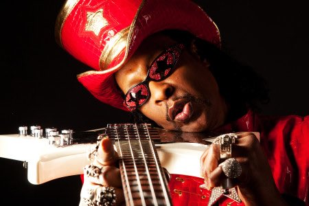 Happy bday William Earl Bootsy Collins, Mister Funkadelic