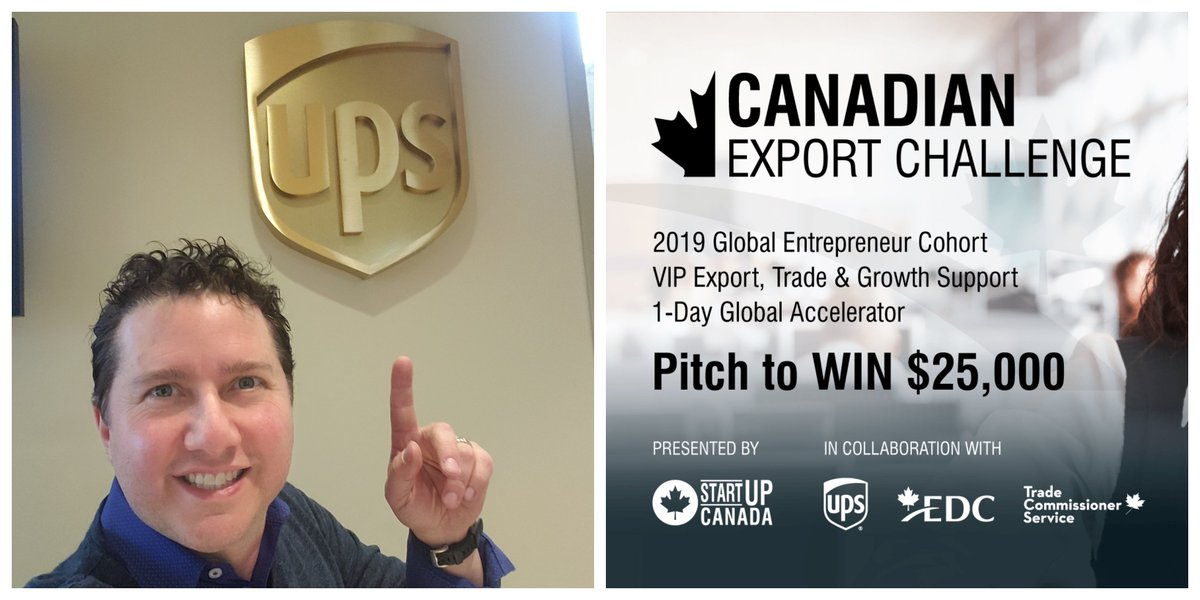 2/6: First up on @NEWSTALK1010's #TechTalk radio show at 6pm ET, I play an interview recorded at @UPS_Canada's HQ. We chat about the forward-thinking company and its partnership w/ @Startup_Canada  on the #CanadianExportChallenge. Hear about the winner, too,  @Toni_Marlow_Co ! https://t.co/m6UVGh77bL