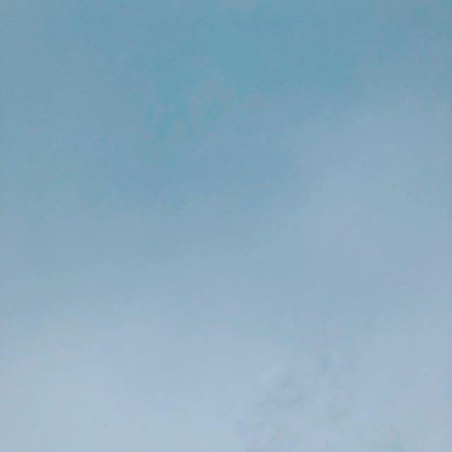 #ノーフィルター この空を見て起きた