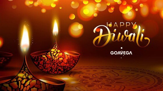May each diya you light bring a glow of happiness in your life #HappyDiwali#HappyDiwali2019 #Goavega #Gofuture<br>http://pic.twitter.com/gmHGxk6K6V