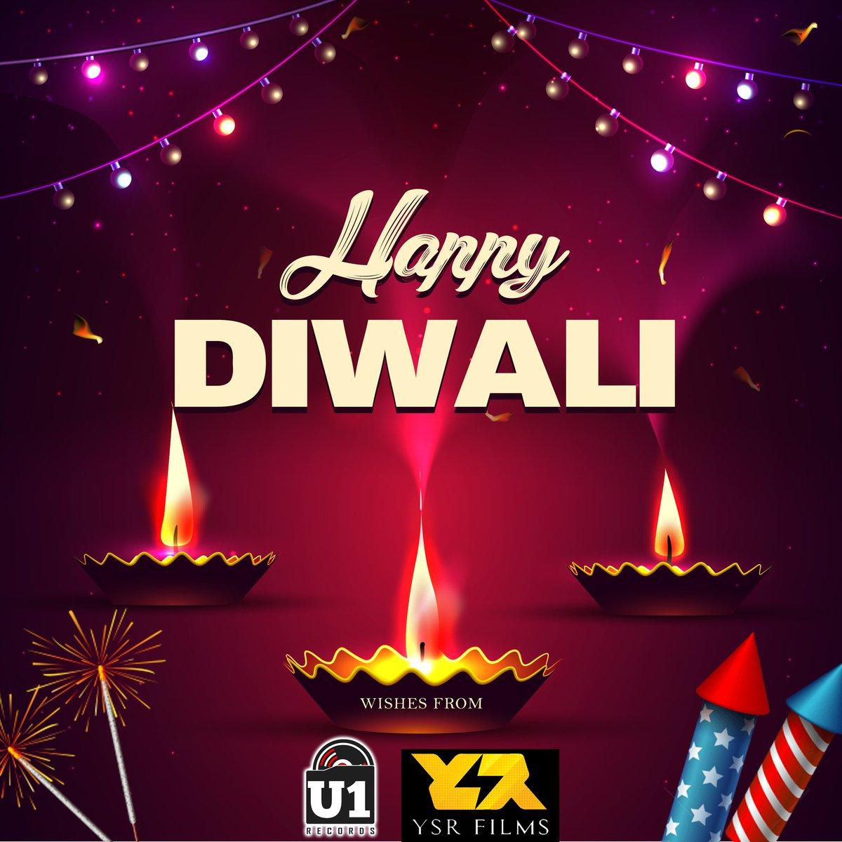 Happy Diwali, Folks! 😊 - @YSRfilms @U1Records Family | @thisisysr @irfanmalik83 #HappyDeepavali https://t.co/6TAdgoUo07
