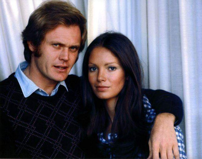 Happy birthday Jaclyn Smith with ex husband Roger Davis.