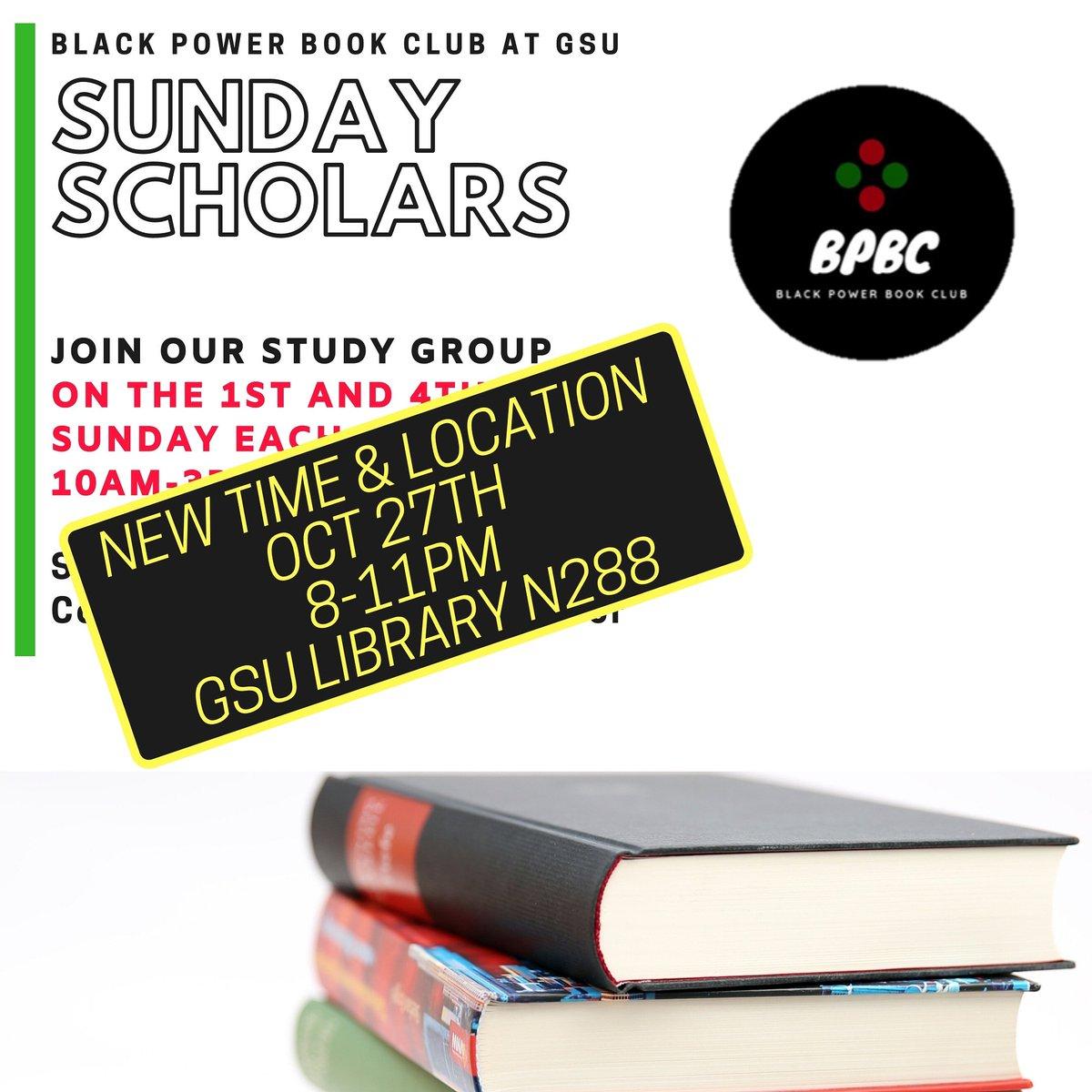 For the night owls and those who work late. Come study with Black Power Book Club!  #Study #GeorgiaStateUniversity #GSU19 #GSU20 #GSU21  #GSU22