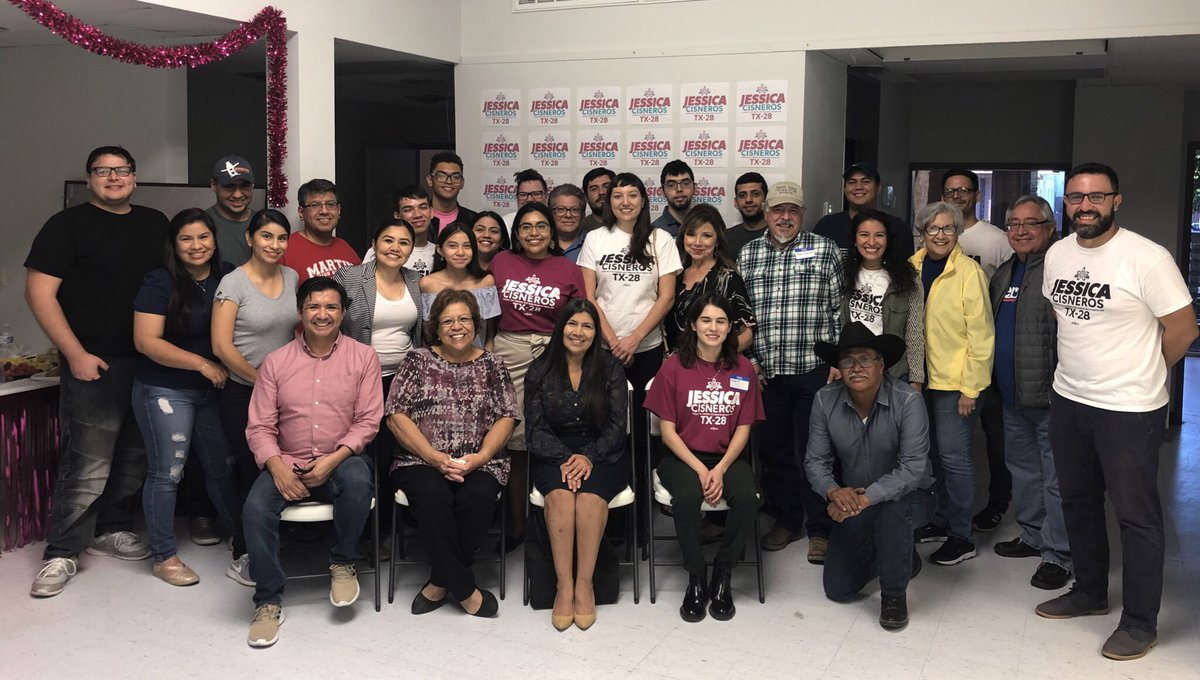 Every day our movement in South Texas grows. Thank you to our incredible community members who joined us at our office opening celebration in Laredo! 129 days to go. ¡Sí se puede!