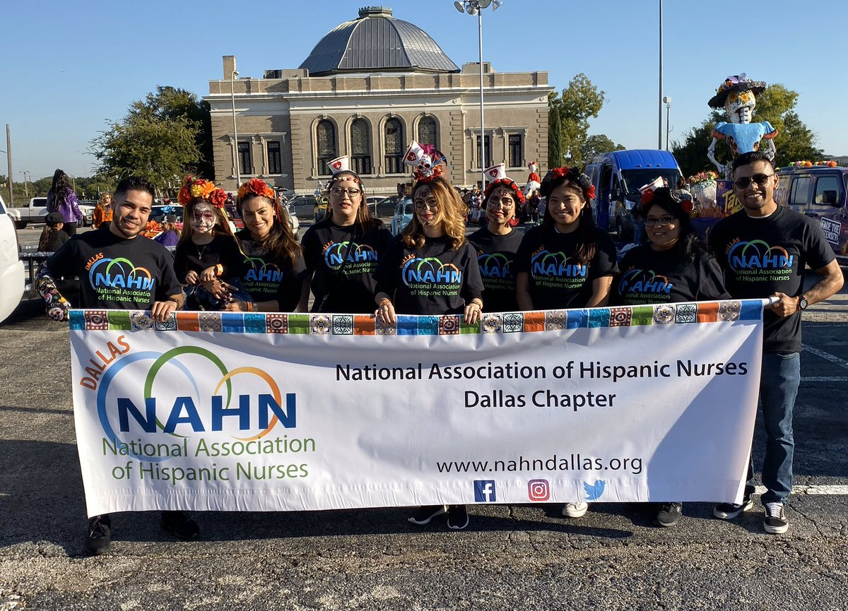 We had an AMAZING time at the Dia De Los Muertos parade! NAHN Dallas was so honored to be apart of this beautiful celebration of life, death, love & familia 💞 Thanks to everyone who participated and we look forward to next year! #DallasParade #DiaDeLosMuertos #DayoftheDead ❤️💀