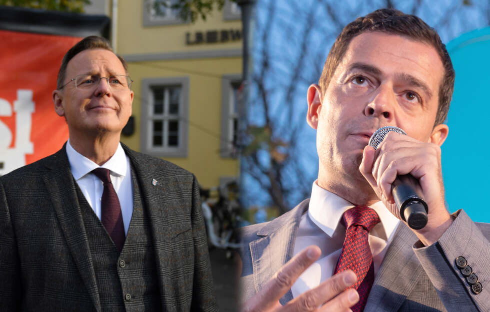Enger Ausgang der Landtagswahl in Thüringen erwartet.#ltwth19#thueringen