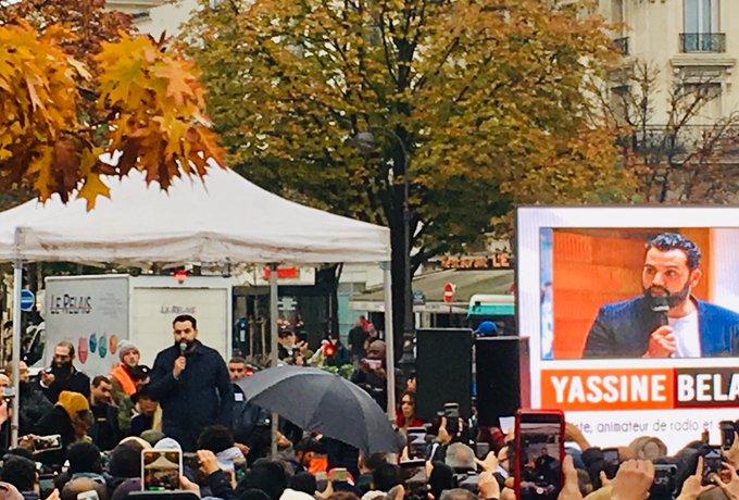 Rassemblement à Paris pour dénoncer la montée de l'islamophobie EH45IW7W4AAjvPj?format=jpg&name=small