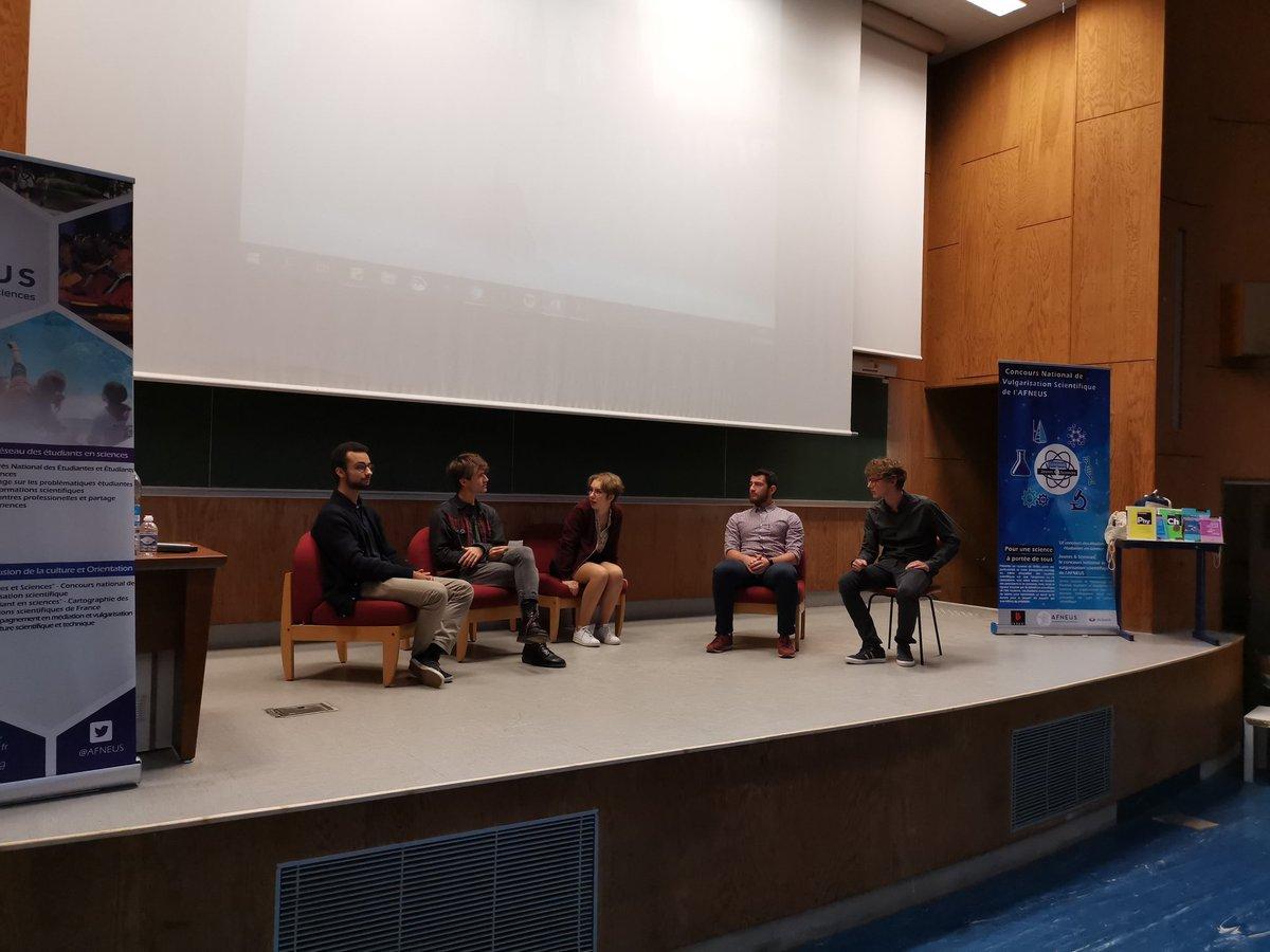 La finale du concours #JeunesEtSciences est lancée sur le thème de la désinformation scientifique lors du #CongrèsAFNEUS19