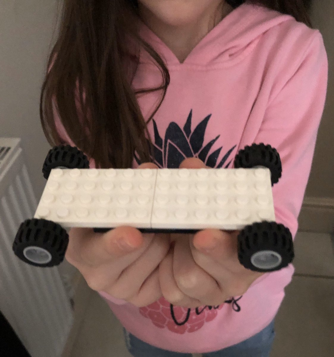 "My daughter just came to me and said ""this drives upside down just like the cars in @GRIPVideoGame""Now I need to find me some monster Lego wheels so I can try and build me a Lego Roller 😂"
