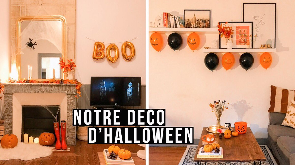 Notre deco d'Halloween & sculpture de citrouilles 🎃👻 #Halloween   https://t.co/6iMV4oRONP https://t.co/FcCvTLtfvz
