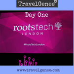 Image for the Tweet beginning: Day One RootsTech London -