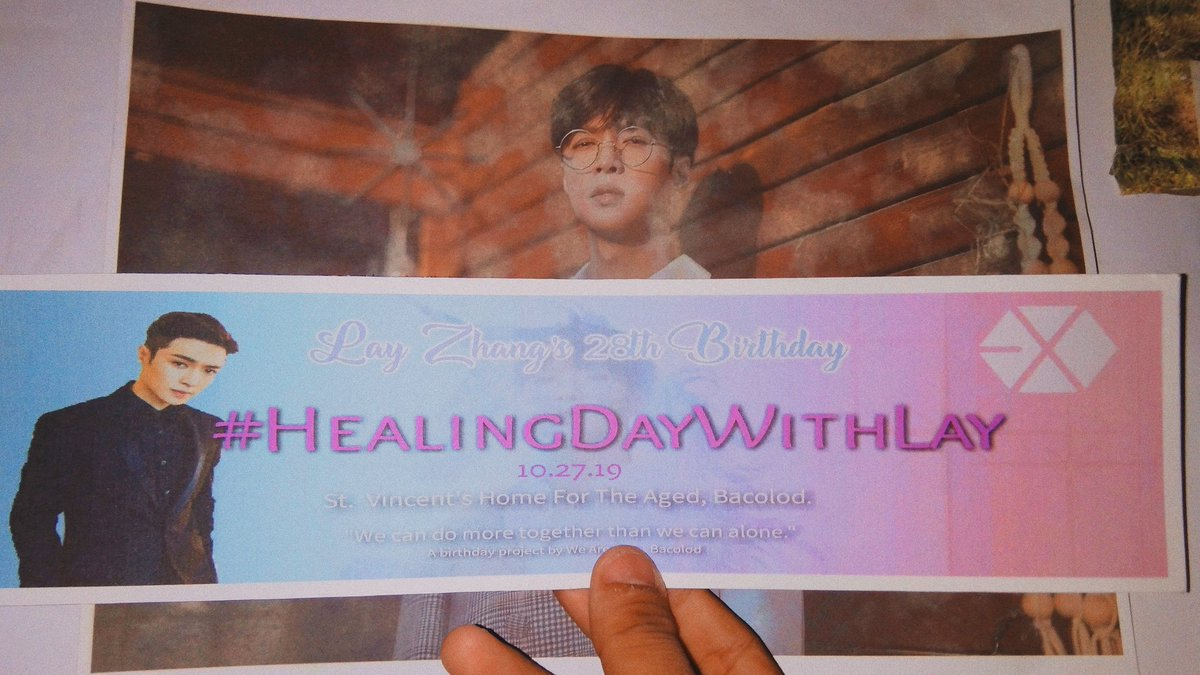 Another successful event of We Are One- Bacolod. We celebrated Lay's Bday @ St.Vincent Home for the Aged. @layzhang @lay_studio Thankyou so much, for making us happy, here we are making other people happy too. We love you #HappyLayDay  #HealingDayWithLaypic.twitter.com/Q5fO2nRSoy