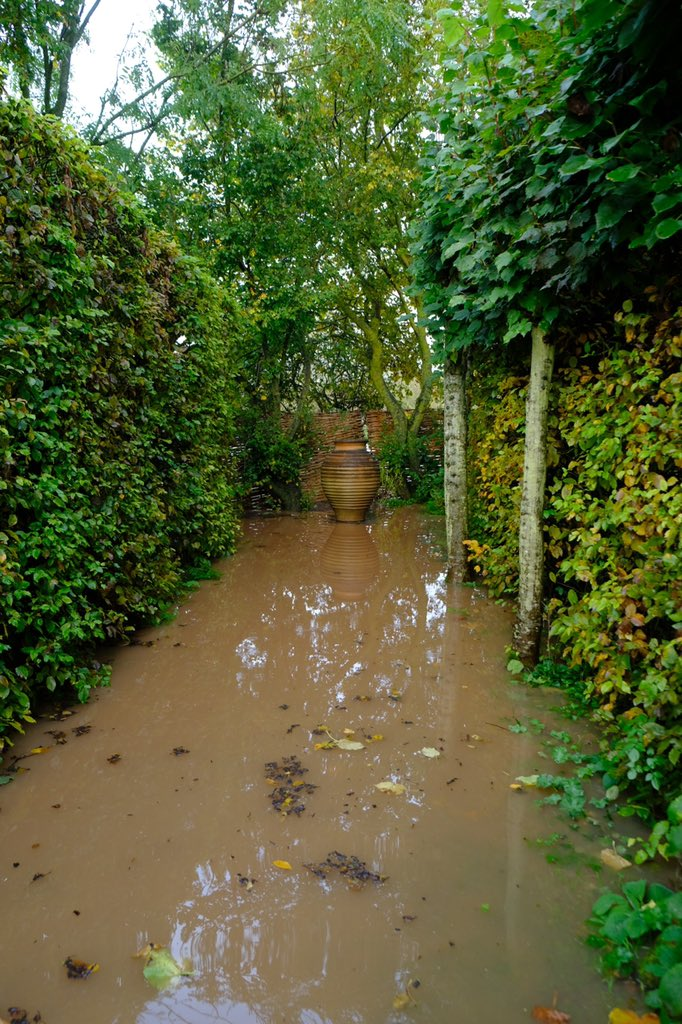 Monty Don On Twitter Quite A High Flood Even By Longmeadow Standards