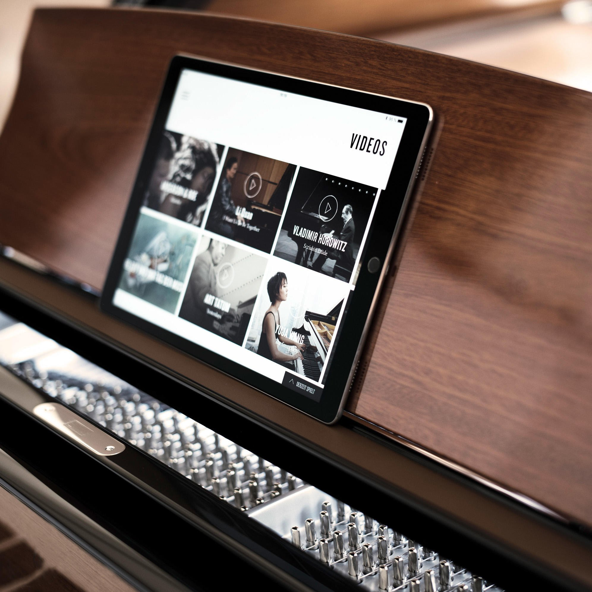 Steinway #Spirio features a library of thousands of high resolution performances by Steinway Artists. The library also includes significant historical performances by Steinway Immortals including Rachmaninoff, Gershwin, Horowitz and more. steinway.com/spirio