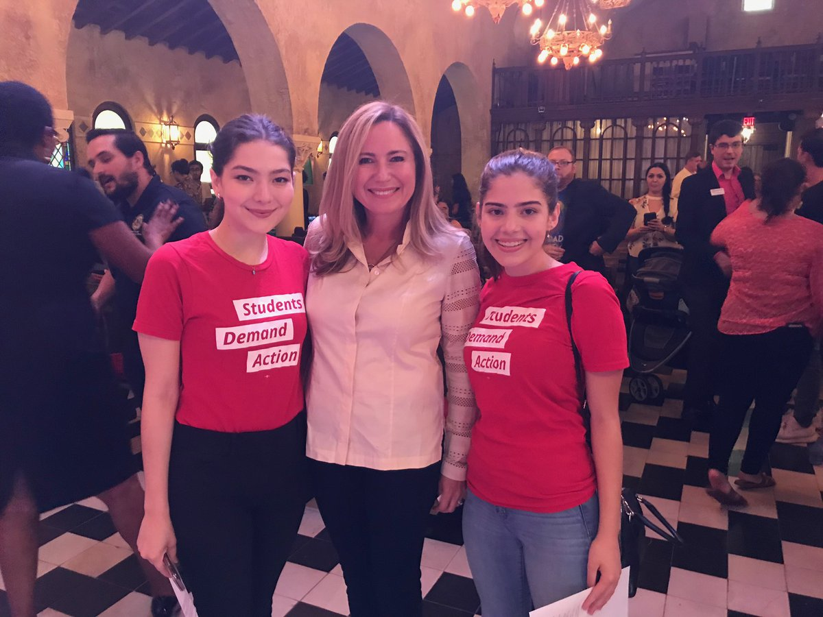 LOVED participating in the Miami Dade Youth Townhall. I go to work every day, trying to leave the world a better place for my children and the next generation. To the next generation of leaders: stay on our heels, keep holding us accountable for a better world!
