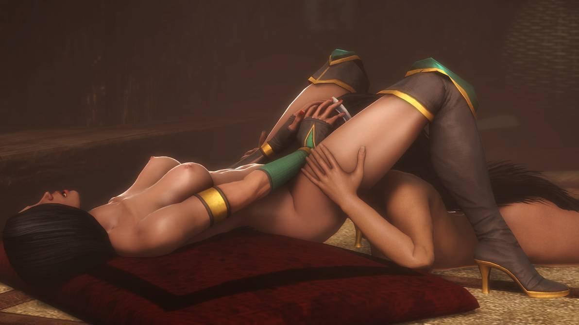 Cosplayerotica mileena jade mortal kombat nude cosplay
