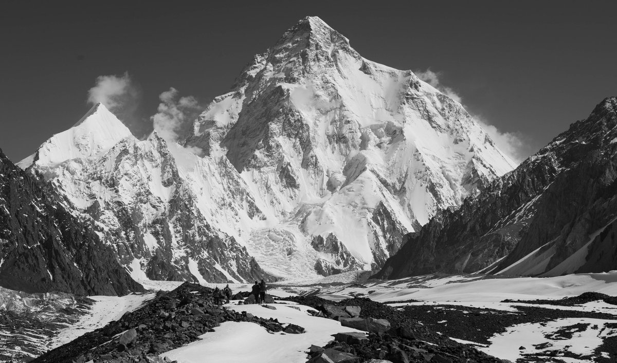 K2 winter Expedition 2019-2020. Question; will success? If so then will be mountaineering history indeed.
