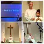 Image for the Tweet beginning: Praise God for the baptisms
