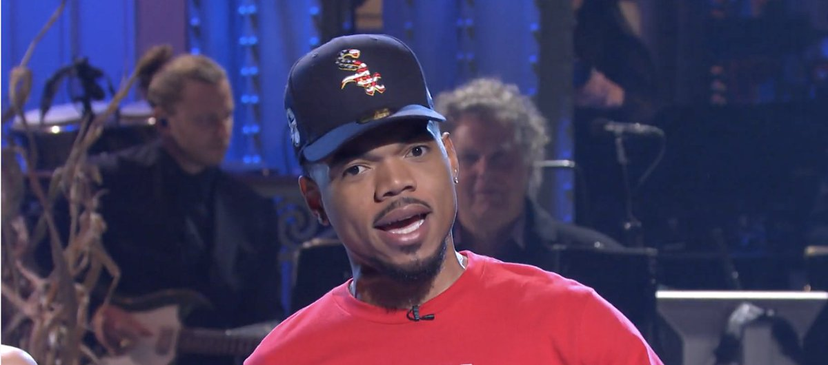 Chicago White Sox focus on Chance's hat — not his CTU shirt. Controversy ensues.
