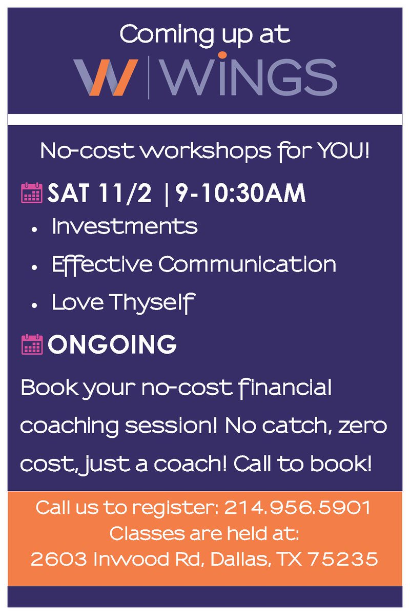 test Twitter Media - Check out the upcoming opportunities we don't want you to miss! Call 214.956.5901 Monday-Saturday to register or visit https://t.co/VaAFMOs4HS! To schedule a meeting to work with a financial coach one-on-one, visit https://t.co/DpCZBhdTZO. Today's the day! We're here for YOU. https://t.co/OfwkRtNoMz