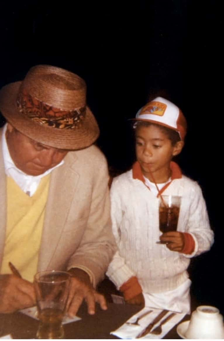 The story behind the first time Tiger Woods met Sam Snead—and the cool photo of them together