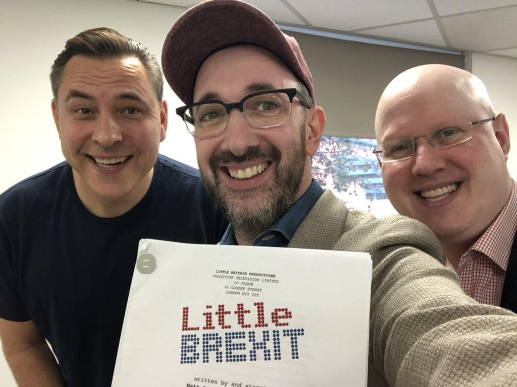 Matt Lucas And David Walliams Reunite for Brexit Special