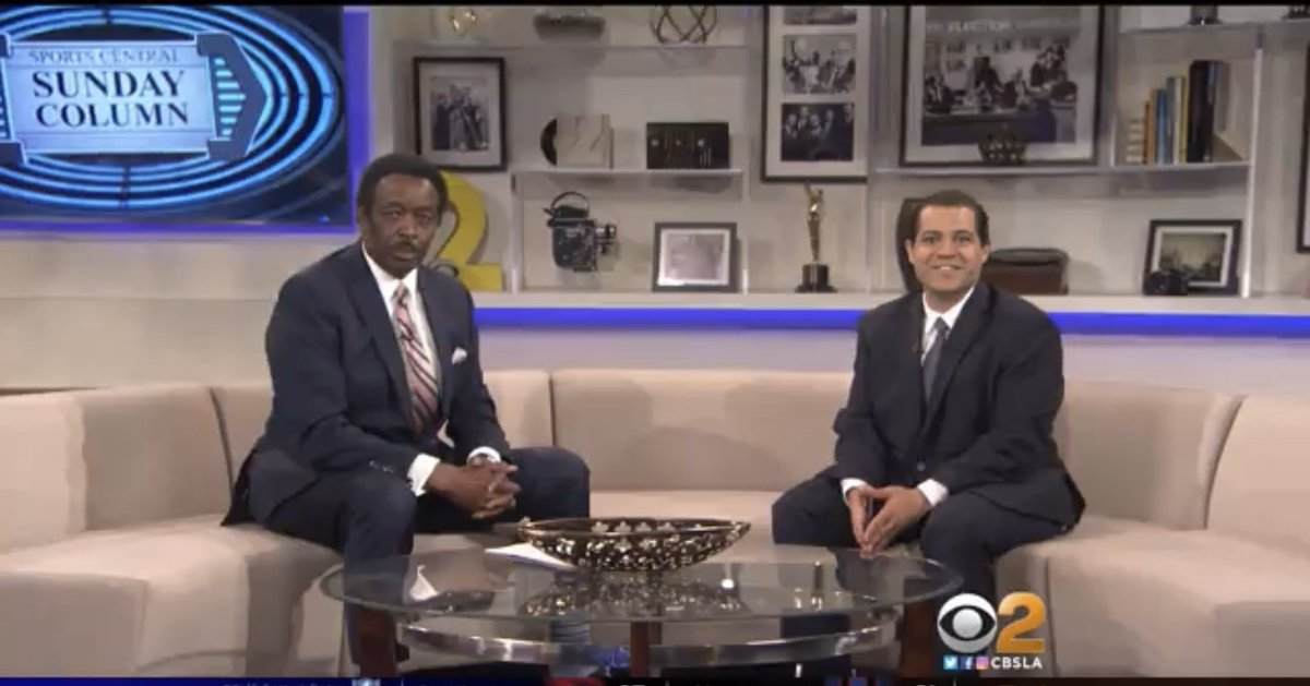 """I'll be on @CBSLA with Jim Hill for my weekly """"Sunday Column"""" segment around 5 p.m. after the Raiders-Texans game."""