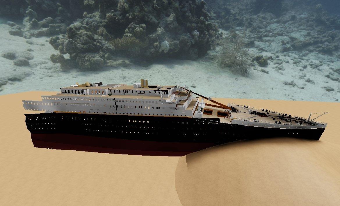комиксах новый корабль титаник картинки служба опасна