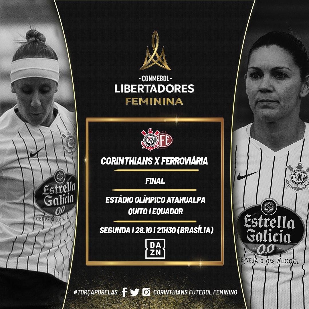 Corinthians Futebol Feminino On Twitter Amanhã é Dia De