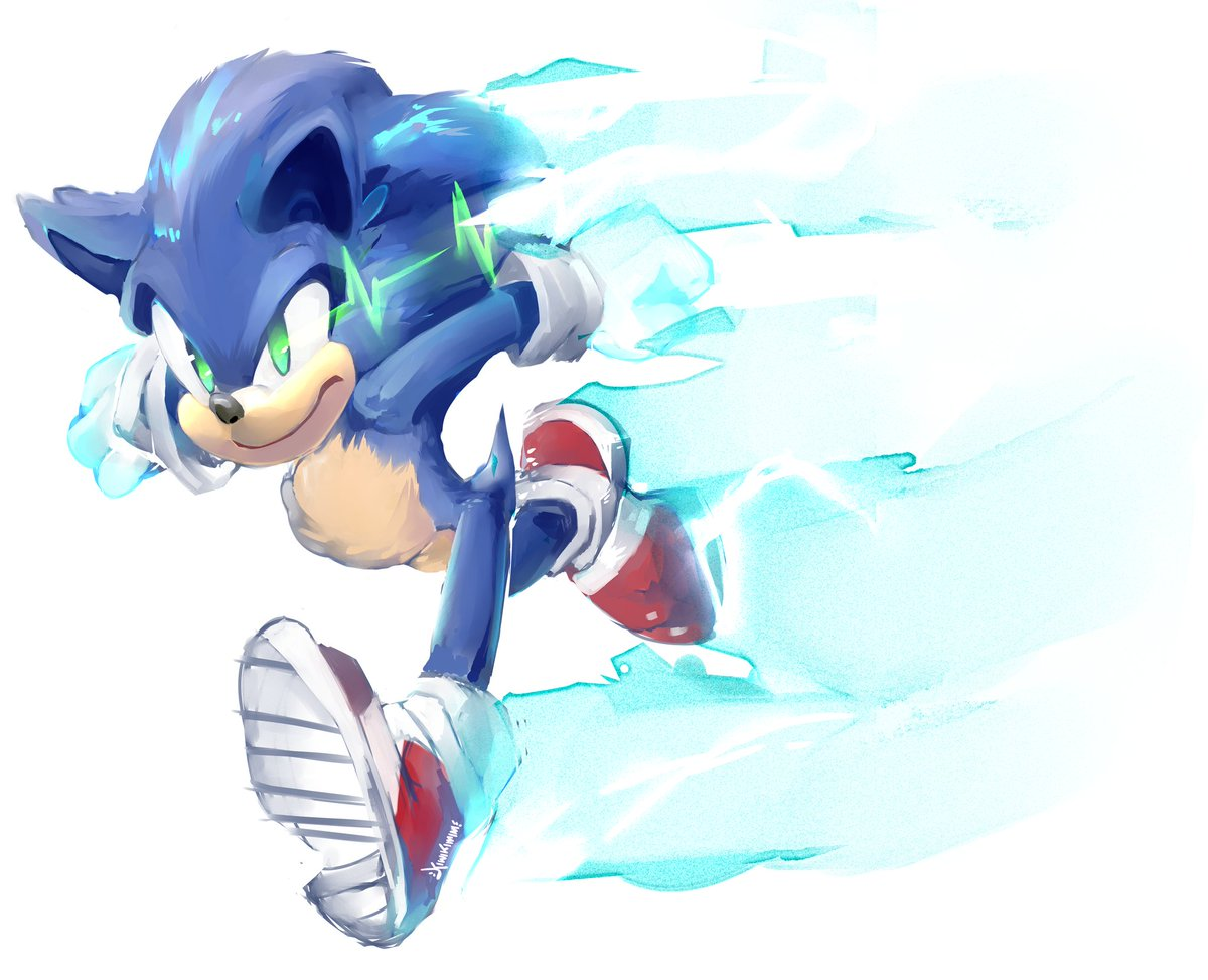 Myles Chilled Sonic Enthusiast On Twitter The Electric In The Eyes Almost Resembles A Heart Rate Monitor Nice Job