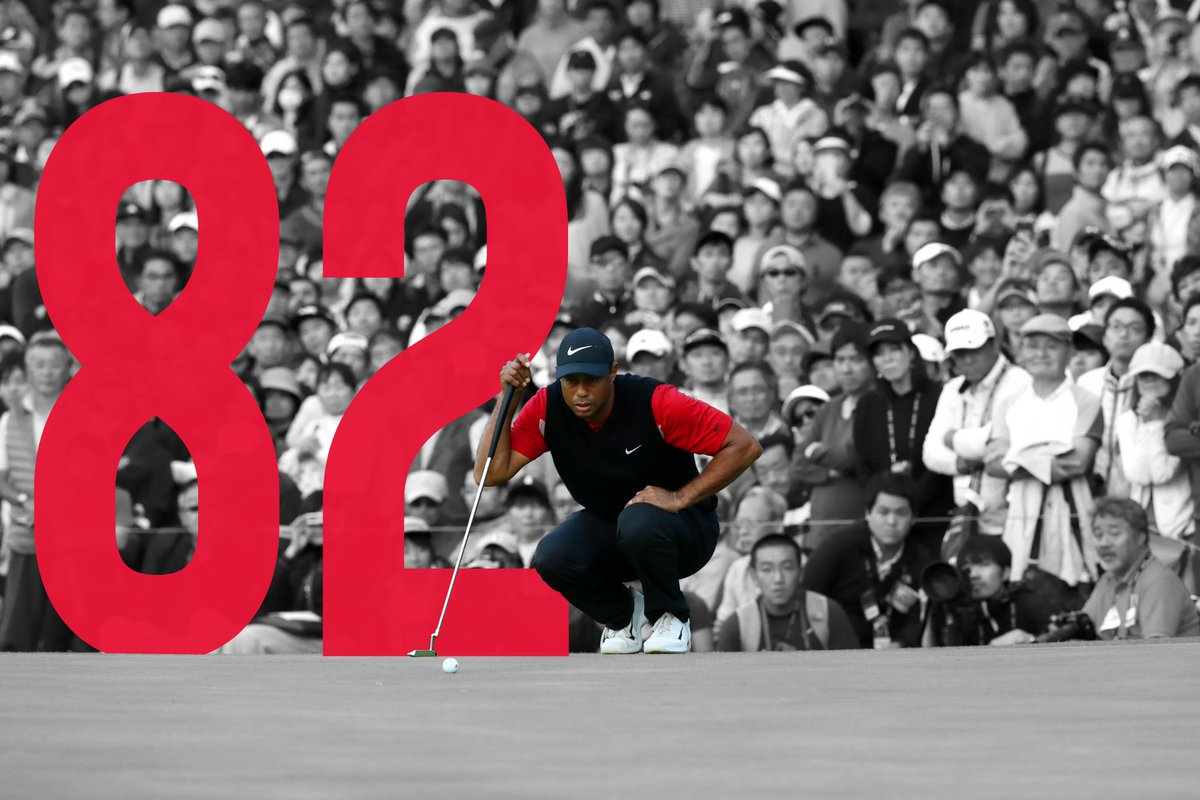 We were there Congratulations Tiger on win #82 Thanks for the memories over the years and those still yet to come. #1Ballfitter #TOURBXS🔵