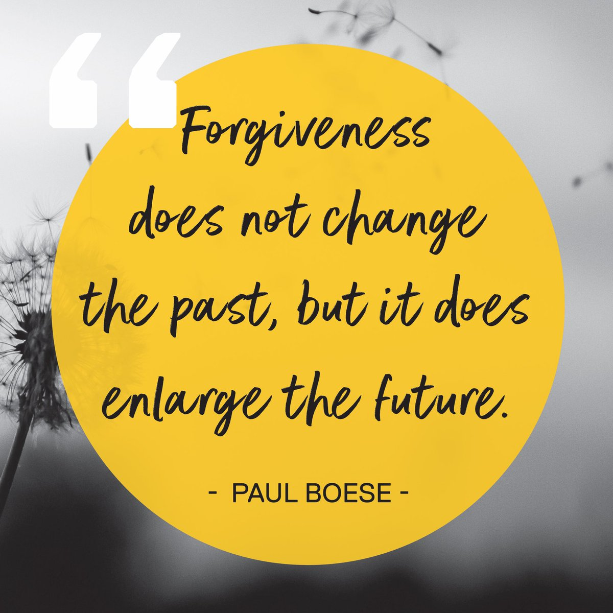 Wise words to start the working week. #forgiveness #future