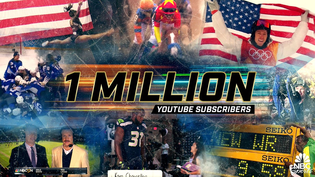 BOOM.   One Million Subscribers!  Thank you so much to all of our subscribers...here's to a million more!   Subscribe now: http://Youtube.com/nbcsportspic.twitter.com/qg4eD6jLRF
