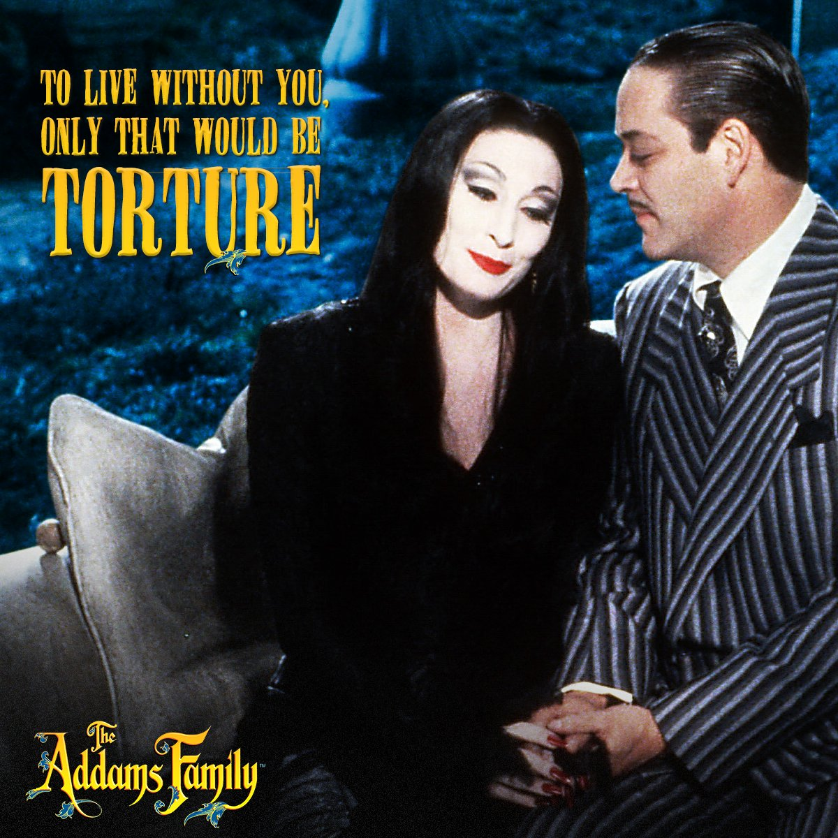 Celebrate Halloween with the Addams Family