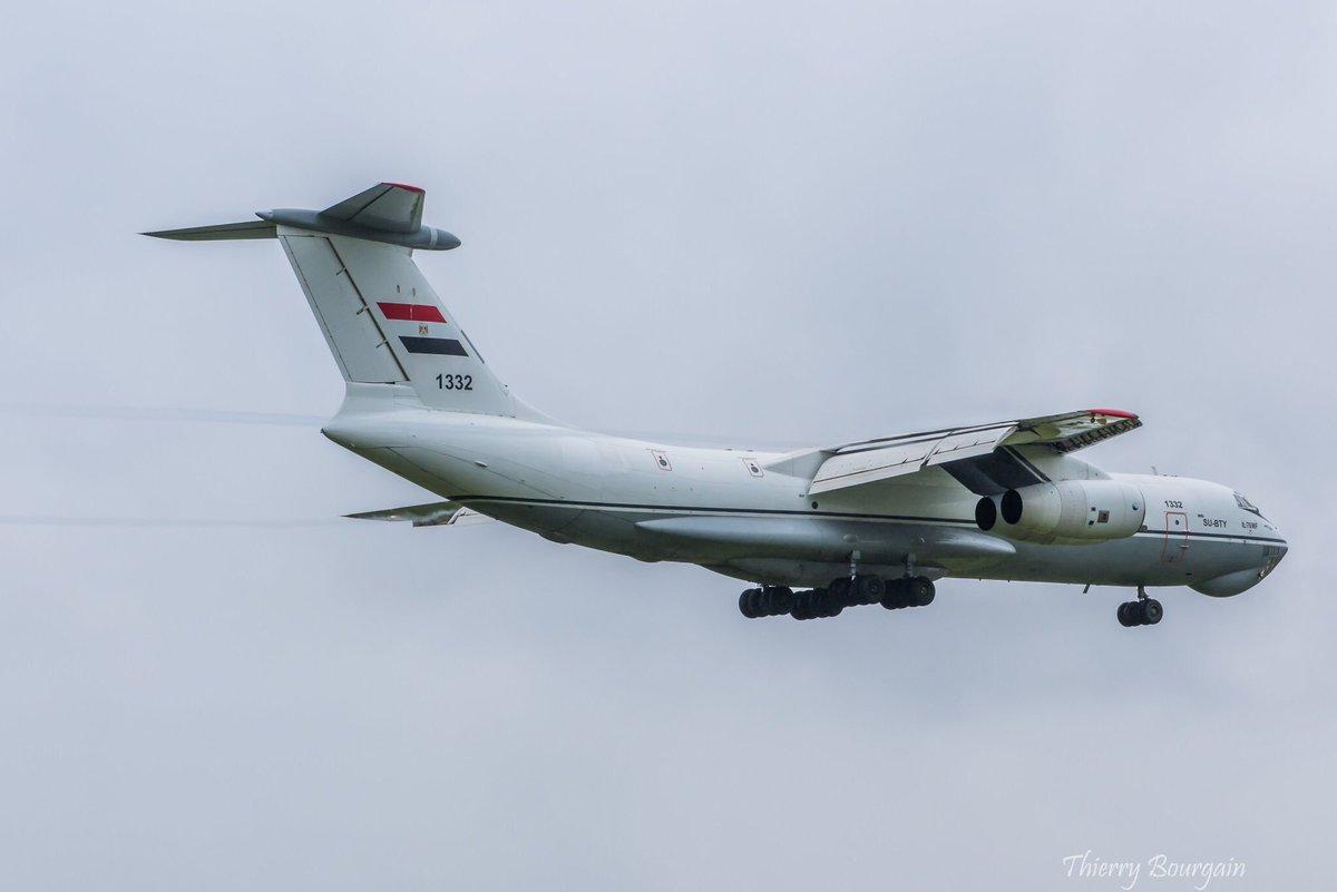 طائرات النقل الاستراتيجي Il-76MF المصريه EH8YRUoX0AEUpun