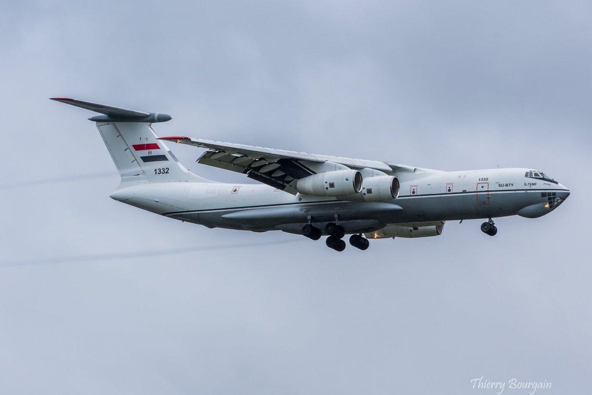 طائرات النقل الاستراتيجي Il-76MF المصريه EH8YRwpX4AArXbu