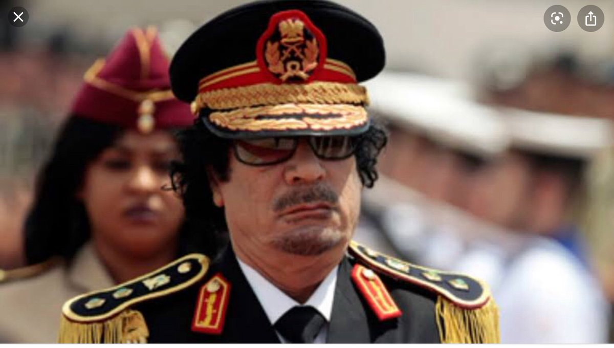 Muammar Gaddafi, a decorated Libyan army colonel killed in action during the arab spring war. #WaPoDeathNotices