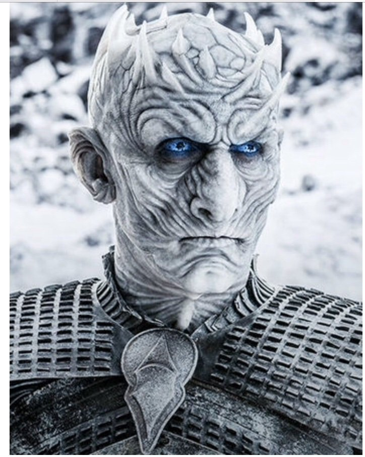 Night king: Leader of the climate change movement,  liked blue eyed babies, stabbed during a protest rally in winterfell #WaPoDeathNotices